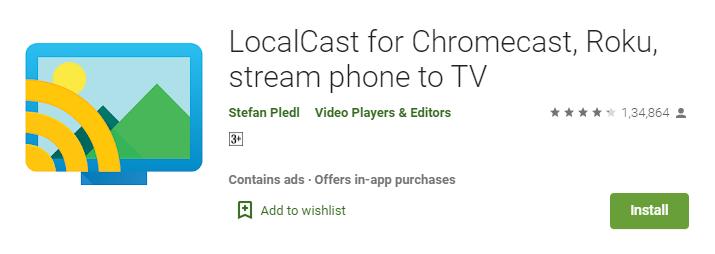 LocalCast to Chromecast Setup - TVTap Pro