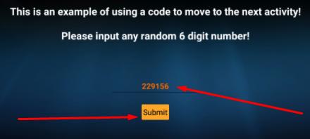 Enter the PassCode Strix App