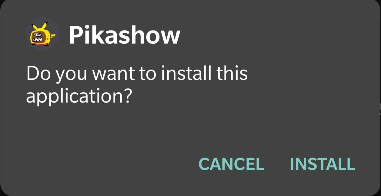 Install Pikashow APK LATEST